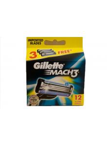 12 X WKŁAD GILLETTE MACH3