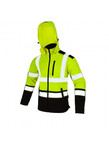 Softshell kurtka SOFTREF Yellow